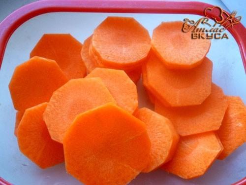 морковь для супа с тефтелями