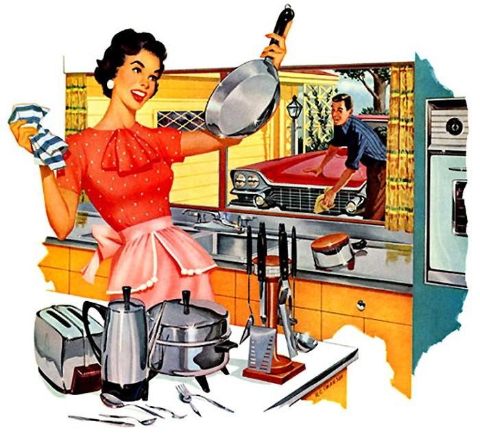 Самая эффективная уборка на кухне