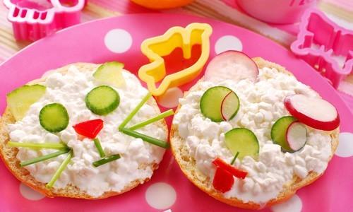 Полезные бутерброды для детей