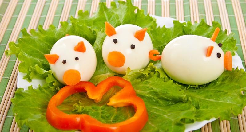 поросята из яиц закуска