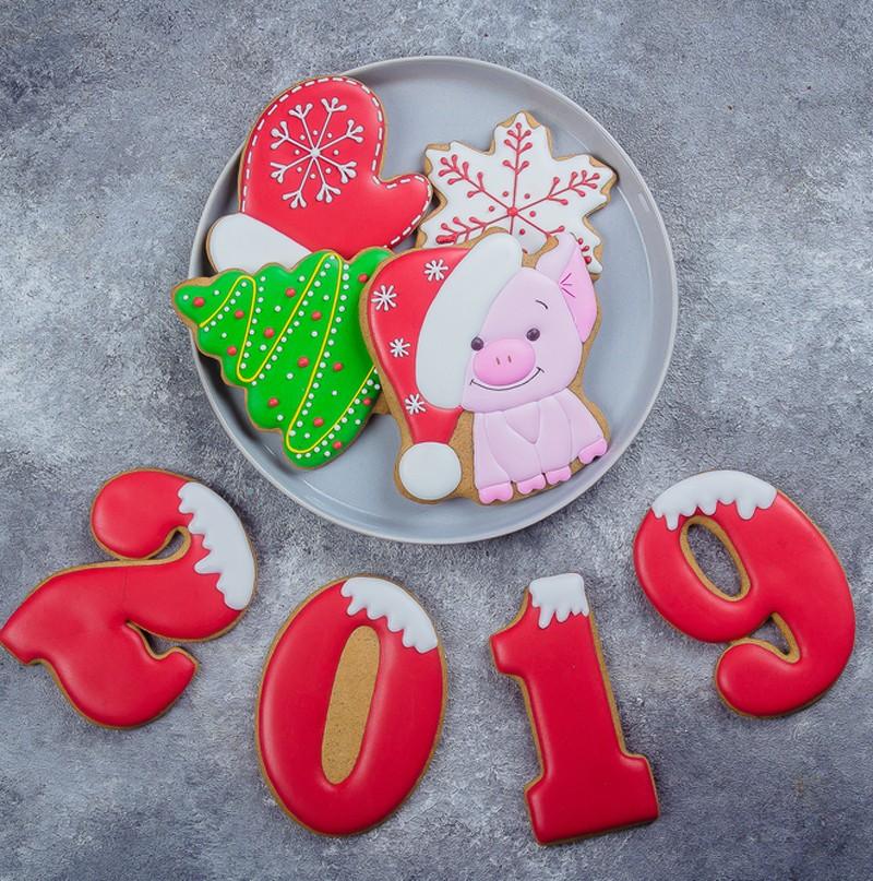 новогодние пряники 2019
