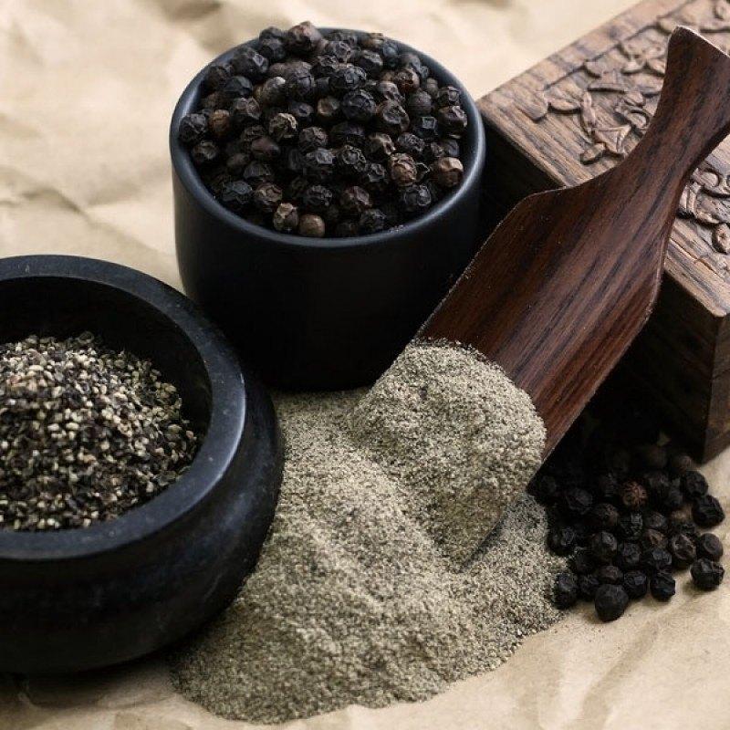 Черный перец горшком – полезные свойства, применение