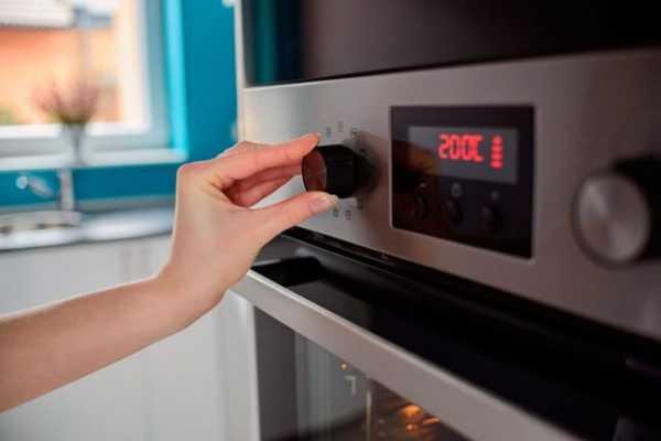 духовка с электронным управлением