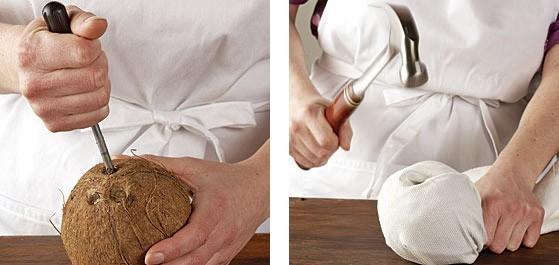 как разделать орех