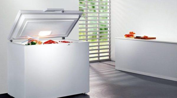 Морозильные камеры. Два вида - ларь и шкаф