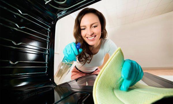 Технологии очистки духовки