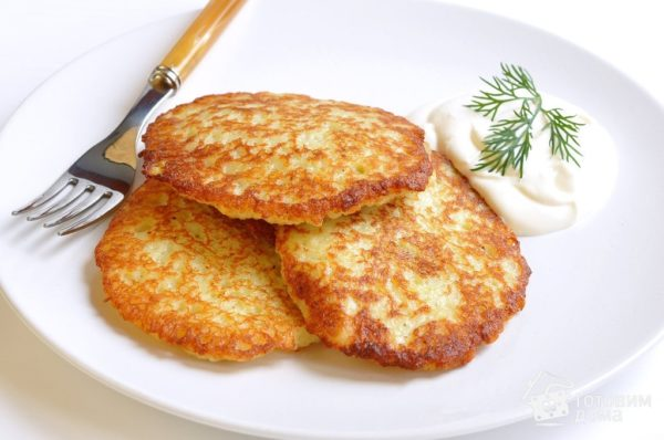 Картофельные драники «Улётные»