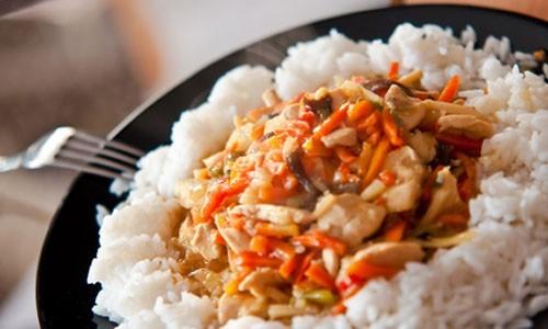 рис с мясом в медленноварке