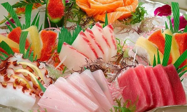 Все о сашими. Японское блюдо