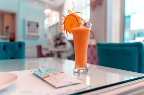 Морковно-имбирный смузи