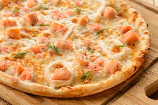 Рыбные пиццы