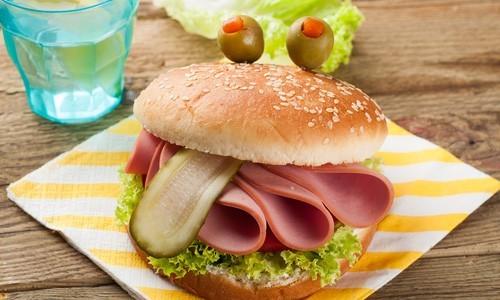 Гамбургер для детей