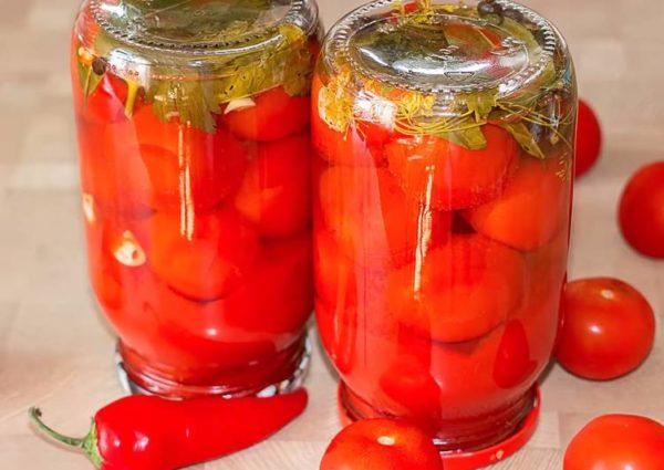 Пряные помидоры. Просто Вкусно