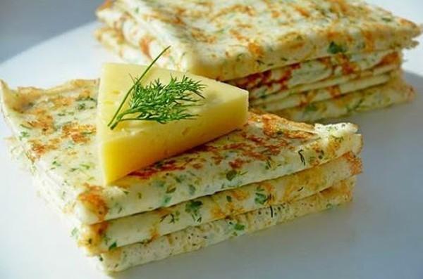 Блины сырные. Просто Вкусно