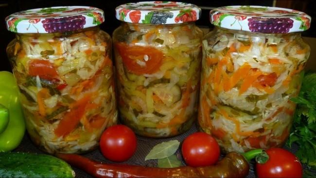 Салат на зиму «Аппетитный»