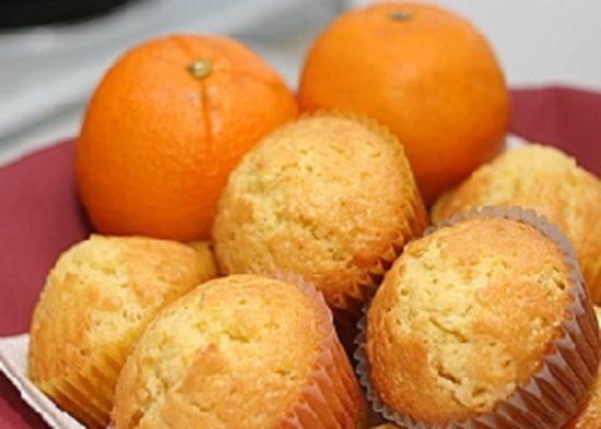 Апельсиновые маффины «Оранжевое чудо»