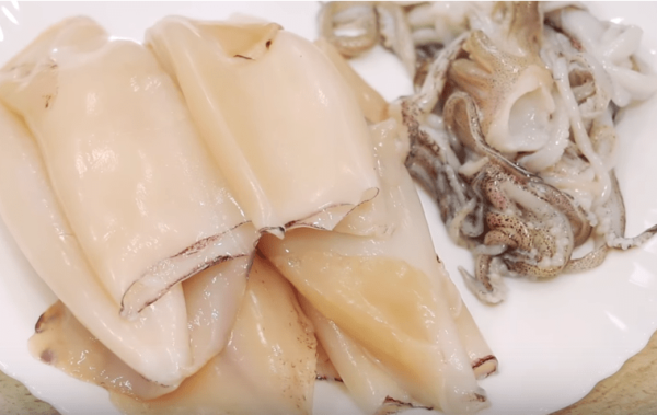 Вкуснейшие фаршированные кальмары
