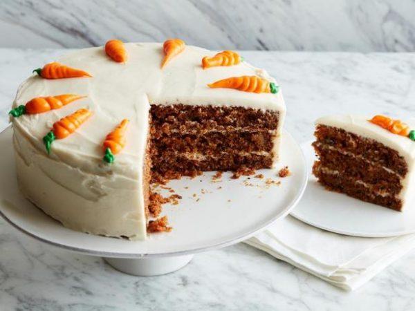 Морковный торт с сырным кремом