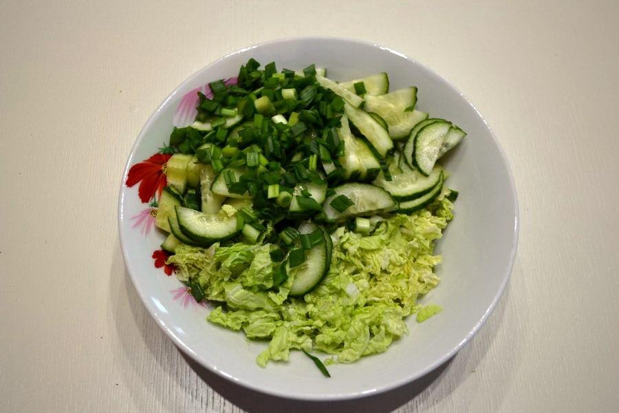 овощи в такос