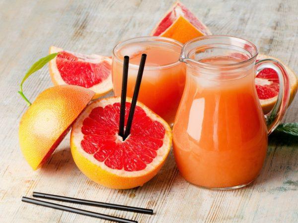 Соус с луком-шалот и грейпфрутовым соком