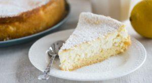 Изысканный лимонный пирог