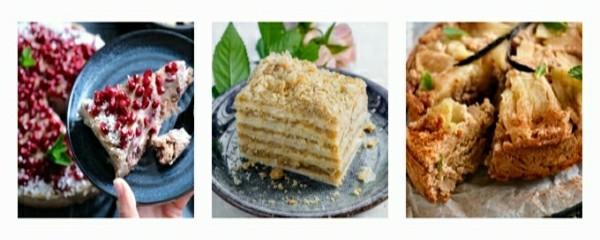 3 вкуснейших десерта без муки, сахара и масла