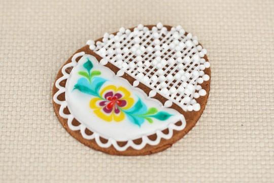 Как украшать печенье глазурью