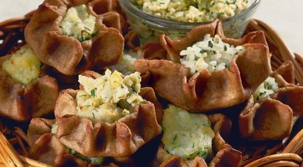 Пирожки карельские из ржаной муки