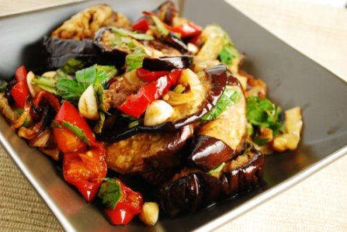 маринад с запеченными овощами