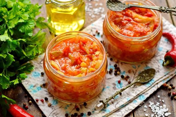 Рецепт вкусного салата из кабачков