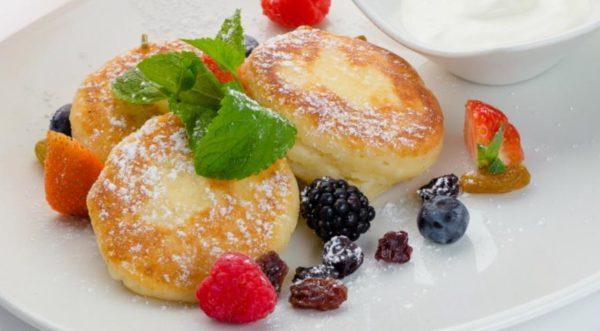 Нежные и вкусные сырники из рикотты